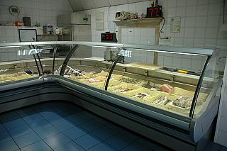 Mirage pesce banchi alimentari comaf pescara for Arredamento alimentari usato